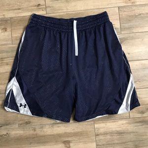 Navy Basketball Shorts